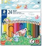 STAEDTLER施德楼 24色彩色铅笔#正品保证# 144 NC24