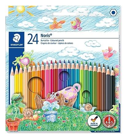 Staedtler Noris 144 Crayon De Couleur De Haute Qualite Pour