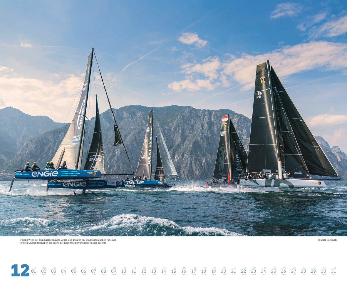 Segeln Kalender 19 Fotografie März 2018 Delius Klasing 3667111215 Wassersport Carlo Borlenghi 2019 Kalender