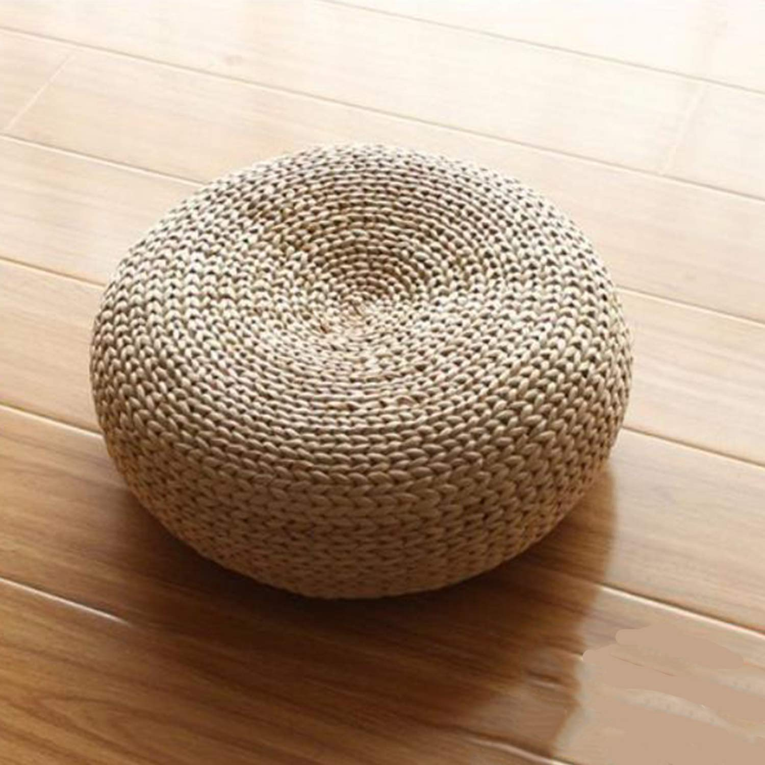 Grass Rattan Coffee Table, Low Table Tatami Coffee Table Simple Bay Window Small Table Cushion