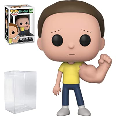 RICK AND MORTY Funko Pop! Animation Sentient Arm Morty #340 Vinyl Figure (Bundled with Pop Box Protector Case): Toys & Games
