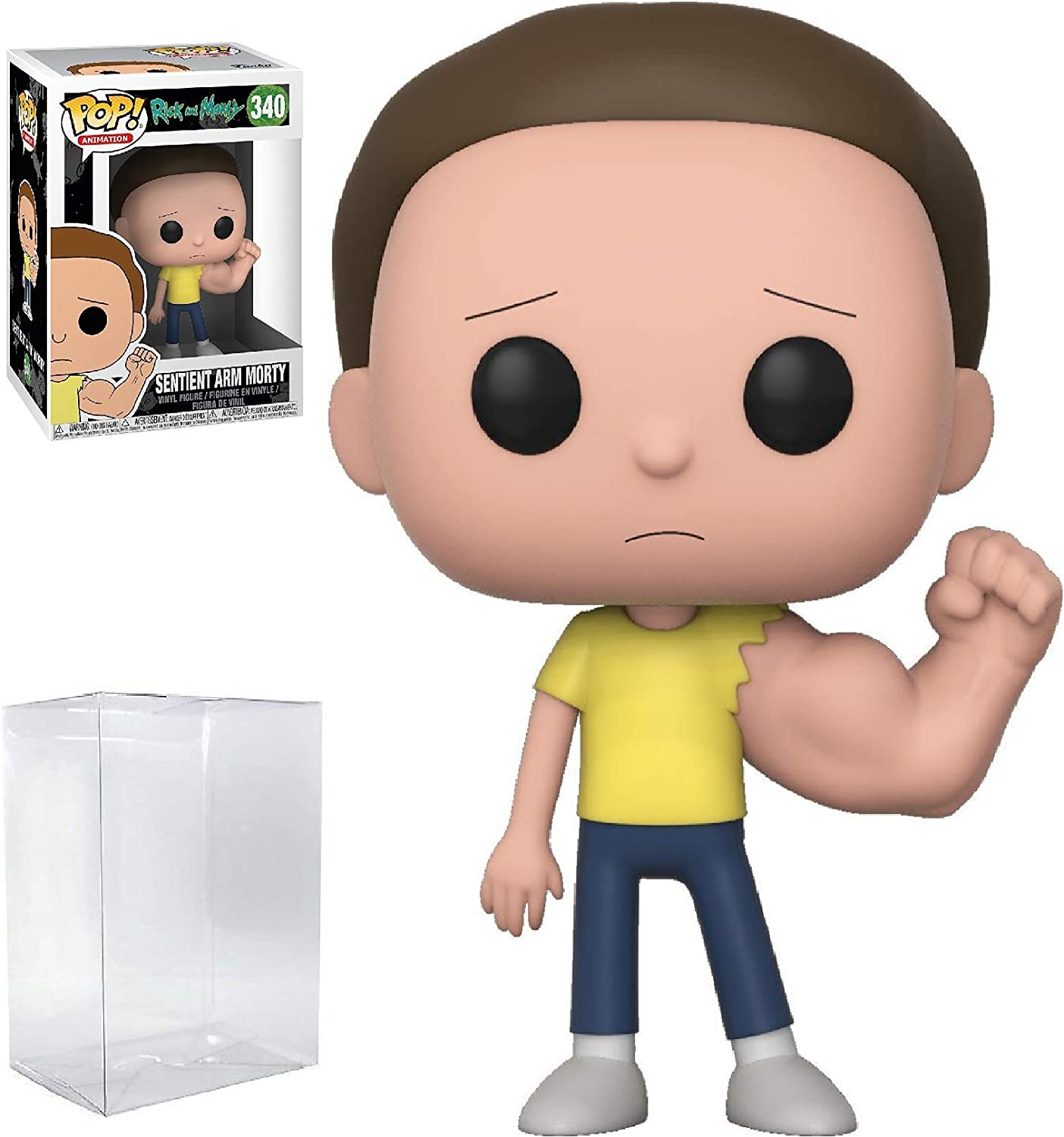 Rick and Morty Funko Mystery Minis Series 2 Vinyl Figures Sentient Arm Morty