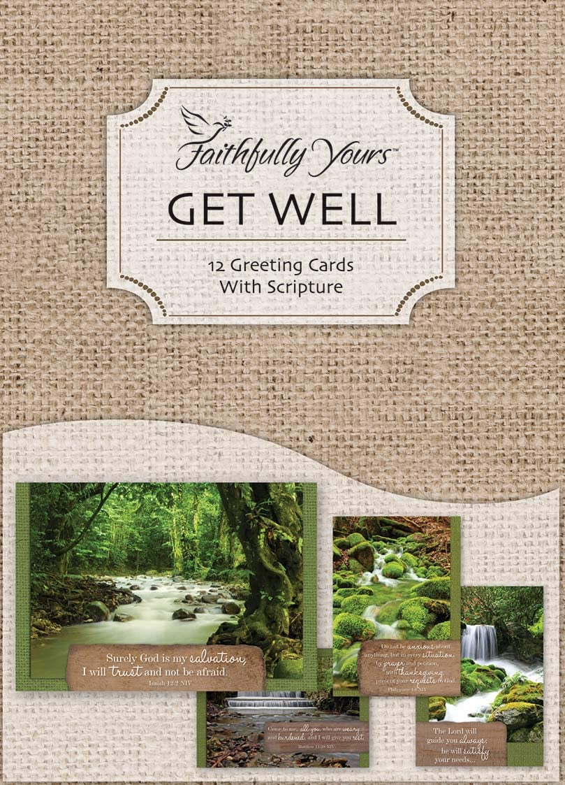 DGR Card-Boxed-Get Well-Waterscapes Box of 12