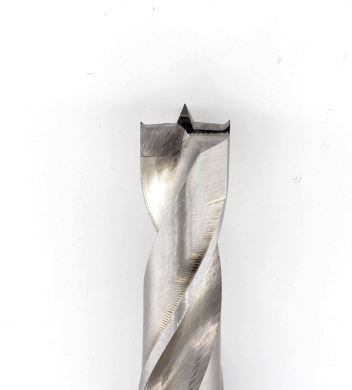 7-teilig im Holzkasten: 3 5 8 4 6 Famag 1593.507 HM-Holzspiralbohrerset 10 /& 12mm