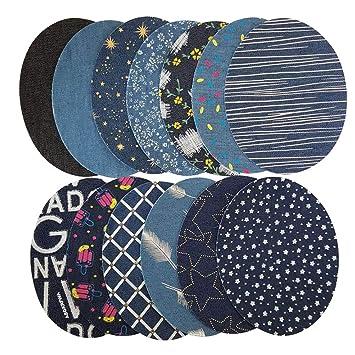 Healifty Patches Nähen Eisen Patches Jeans für Kleidung Jeans DIY ...