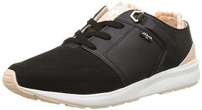 Hommes Loch Chaussures De Sport Haut Bas, Schwarz (noir) Levi's