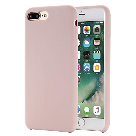 SpiritSun Funda para iPhone 7/8 Plus, Líquido Silicona ...