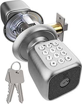Cerradura de puerta digital con teclado, TURBOLOCK para ...