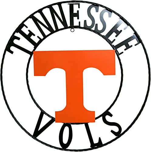 LRT SALES NCAA Tennessee Volunteers Collegiate Wrought Iron Wall Decor