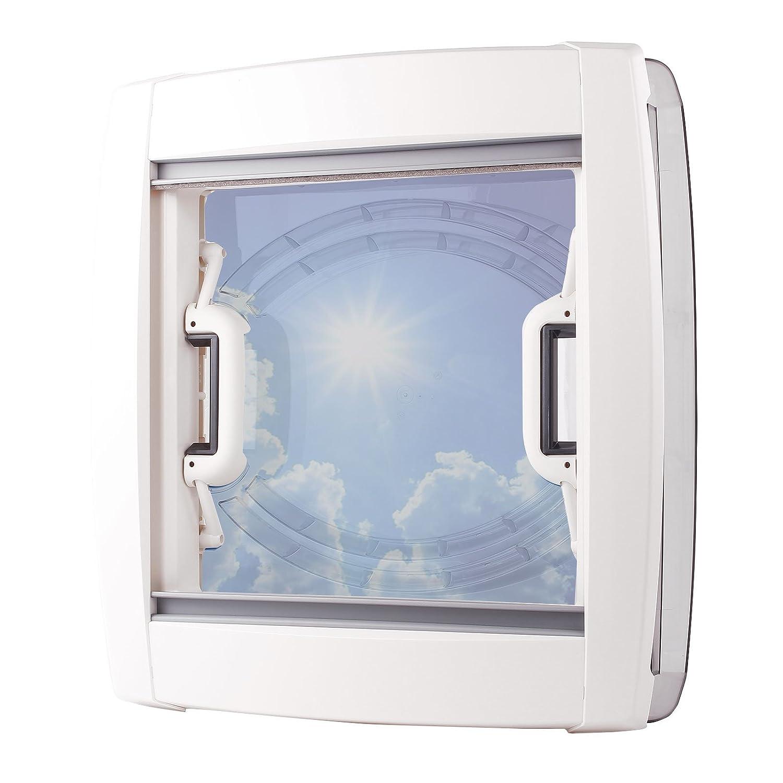 Deklain Dichtmittel MPK Dachfenster Dachhaube Vision Vent M Pro klar 40x40 cm Dachst/ärke 24-56 mm 47P