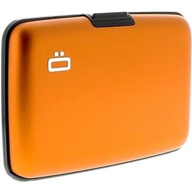 Ögon ST-Orange Stockholm Cartera Tarjetero de Aluminio ...
