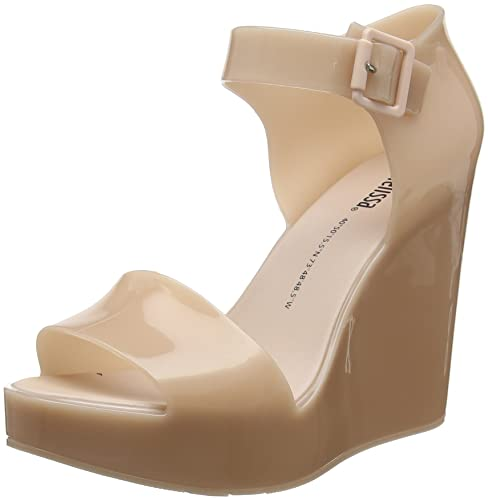 5184cca472a Melissa Women's Mar Wedge 20 Platform Heels, Pink (Blush 1822), 4 UK ...
