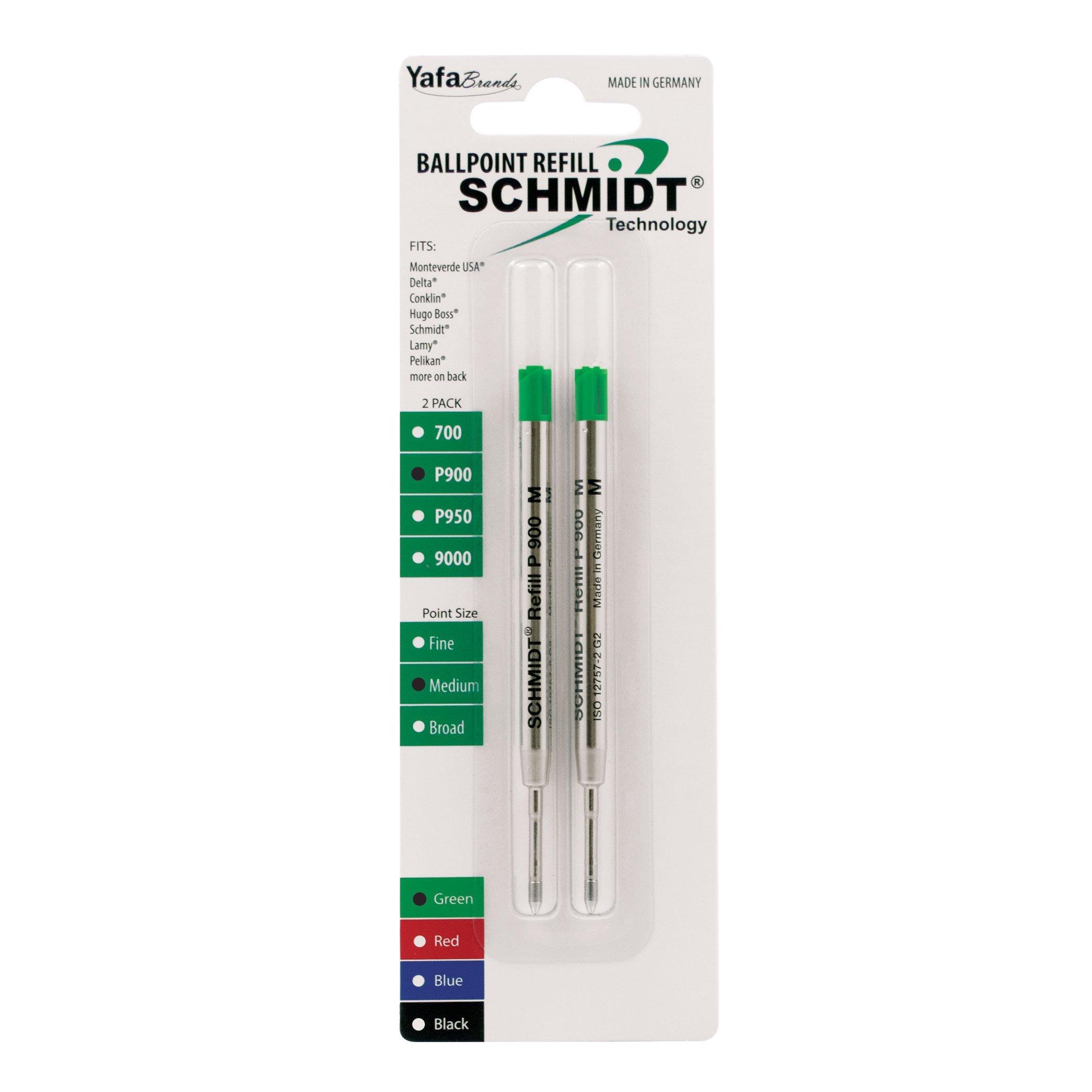 Recarga Tinta Schmidt Medio Verde (SC58138) [2un.]