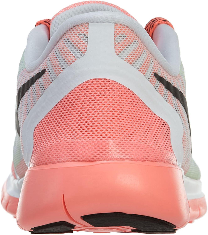 Nike Free 5.0 Gs Big Kids 725104 010 Grey Athletic Running