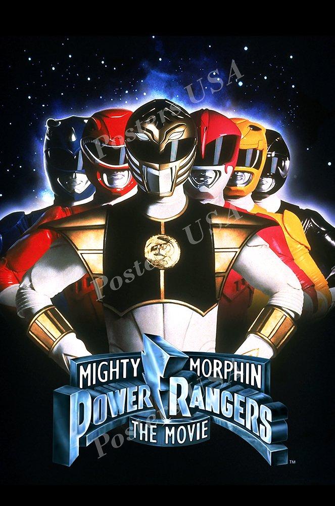 "Posters USA - Power Rangers Original Movie Poster GLOSSY FINISH - MOV693 (24"" x 36"" (61cm x 91.5cm))"