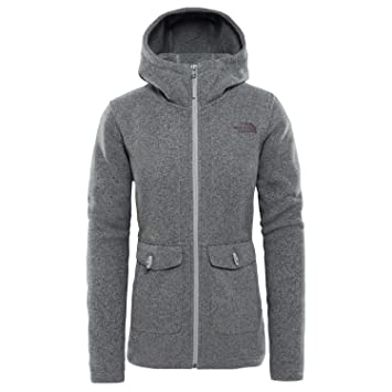 Amazon Gris 2018 es Chaqueta Face The Mujer Crescent North qHxBXcZw0