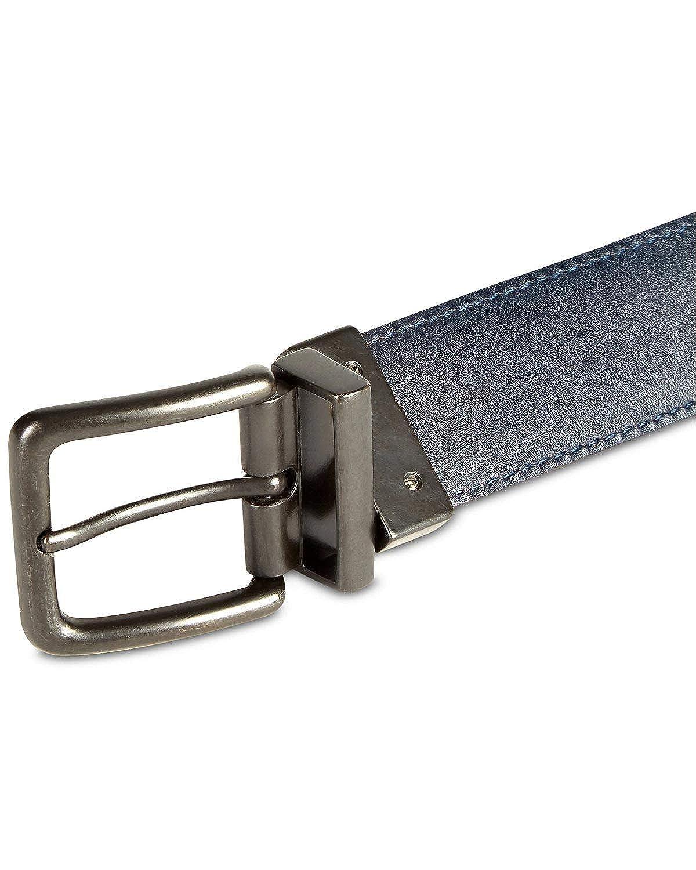 Original Penguin Mens Leather Reversible Dress Belt