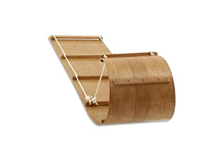 2f776e6d4071 Wooden Toboggan Snow Sled for Family, Premium Quality Tobboggans for Kids &  Adults, Snow