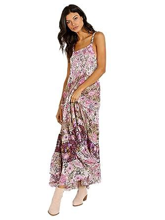 10ba168e09b Spell   The Gypsy Desert Daisy Maxi Sundress Lilac at Amazon Women s  Clothing store