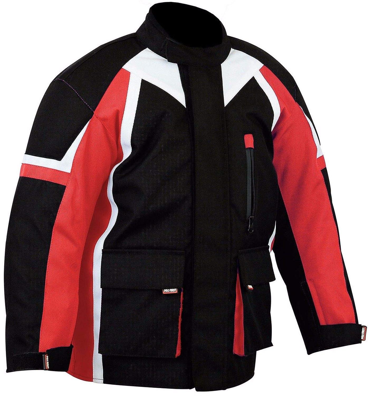Profirst Global Chaqueta de motocross para ni/ños con protecci/ón CE 415