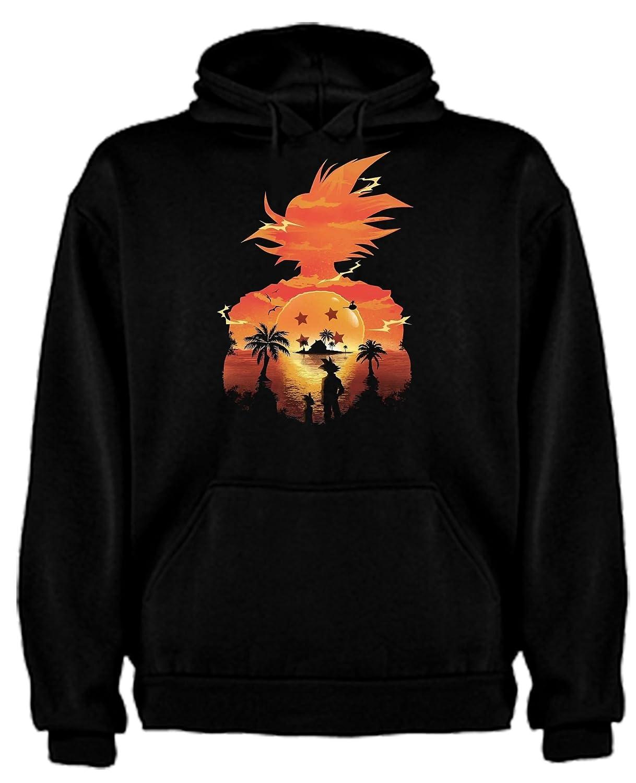 The Fan Tee Sudadera de NIÑOS Dragon Ball Son Goku Anime Vegeta ...