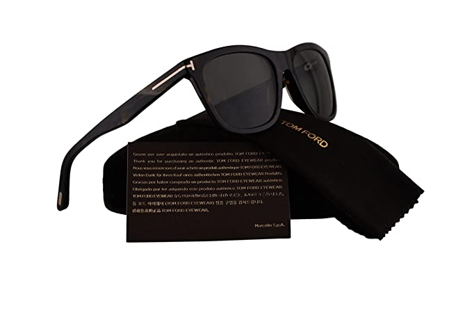 823a078a15 Image Unavailable. Image not available for. Colour  Tom Ford FT0500 Andrew  Sunglasses Dark Havana ...