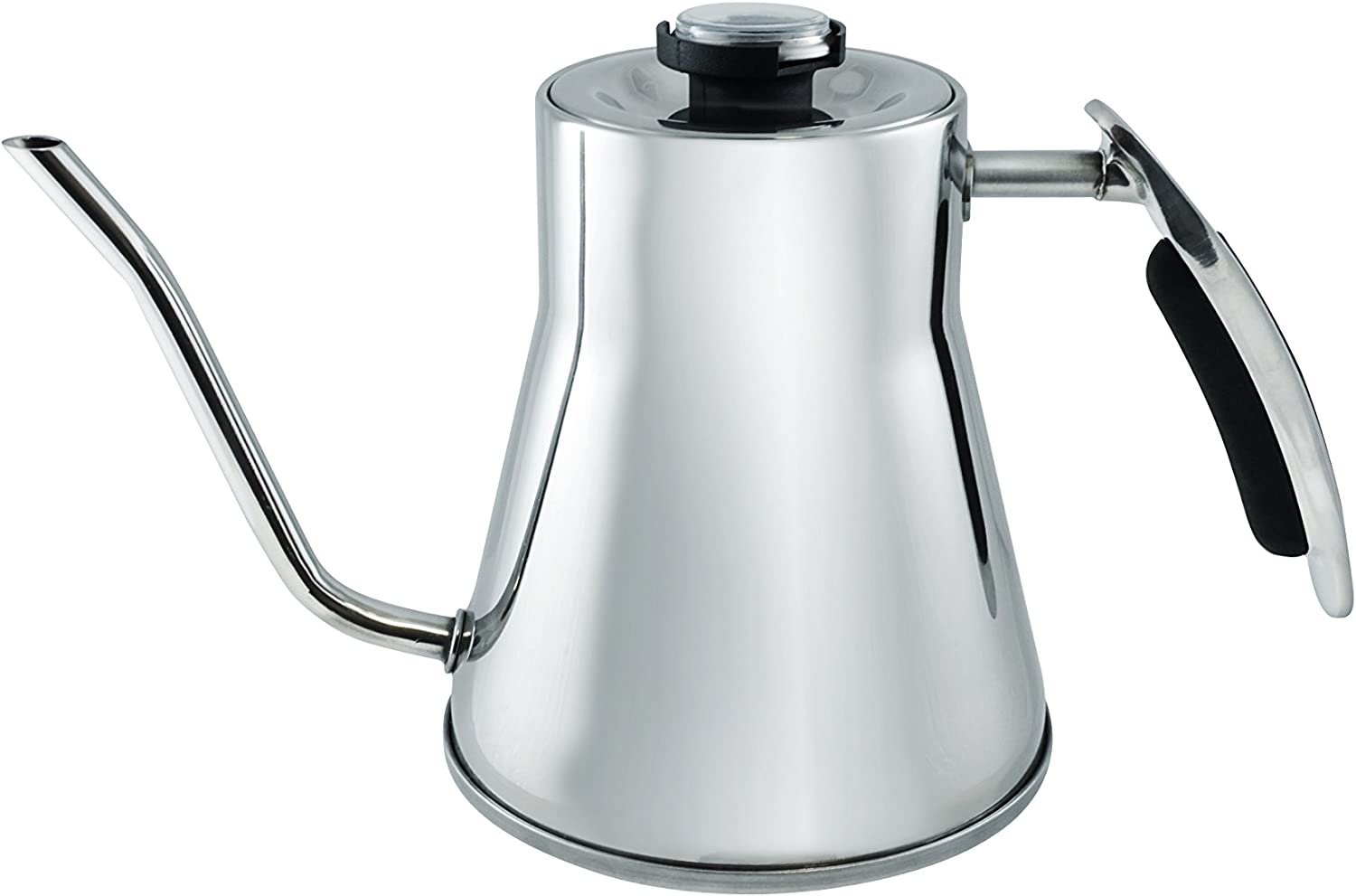 Java Concepts JC-17010 Pour Over Kettle, Stainless Steel Pour Over Kettle, Stainless Steel,