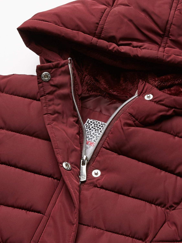 Kensie Girls Outerwear Girls Little Mid Length Puffer Jacket