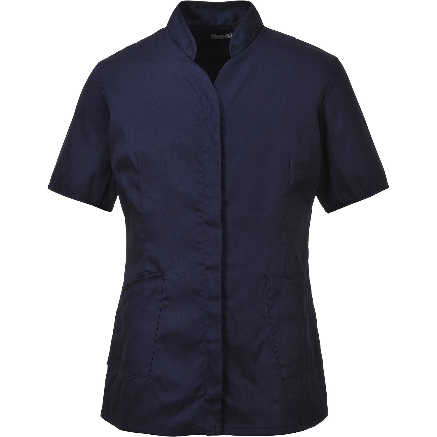Portwest LW12NARXXL Series LW12 Ladies Premier Tunic, Regular, Size: 2X-Large, Navy Portwest Clothing Ltd