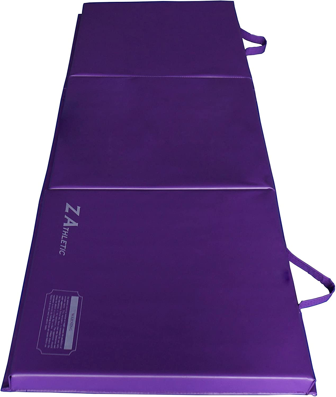 Z Athletic 2ft Wide 6ft Long Gymnastics Mat for Tumbling, Yoga, Pilates, Calisthenics Multiple Colors