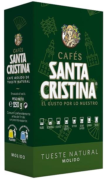 Santa Cristina Café de tueste natural - 1 paquete: Amazon.es: Alimentación y bebidas