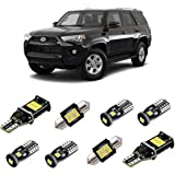 iBrightstar Super Bright Canbus LED Bulbs Package Kit fit for Toyota 4Runner 2006-2019 Interior Lights + License Plate…