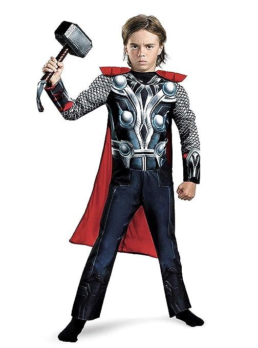 Kiralove - Disfraz - Disfraz - Niños - Thor - Musculos ...