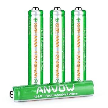 Amazon.co.jp: ANVOW 充電式AAA...