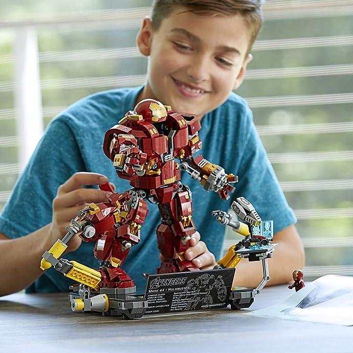 LEGO 乐高 76105 漫威超级英雄系列 复仇者联盟 反浩克装甲 奥创纪元版 积木玩具 7.5折$74.99 海淘转运到手约¥618