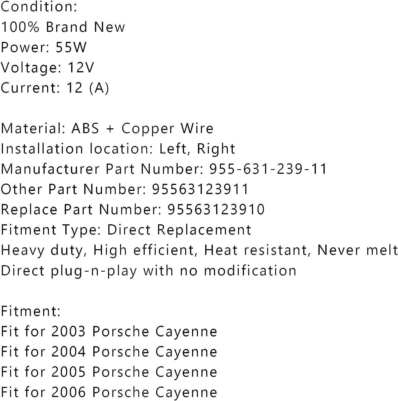 Artudatech Headlight Wiring Harness Lamp Xenon Front Connector for Porsche Cayenne 03 04 05 06