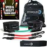 Kinetic Bands   Speed and Agility Resistance Training Leg Bands   Official Myosource Kinetic Bands
