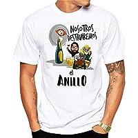 MardeTé Camiseta Despedida de Soltero. Nosotros destruiremos el Anillo. Camiseta a Juego con la de Novio Yo llevaré el…