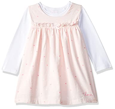 3d14c6e73fe2 Mothercare Baby Girls Newborn Cord Pinny Dress Short Sleeve and ...