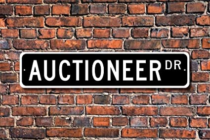 Home Decor Auction | Amazon Com Diuangfoong Auctioneer Gift Sign Decor Auction House