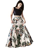 Suppar Sleave Women's Crepe Silk Dress (SHS-108_Multicolor_Free Size)