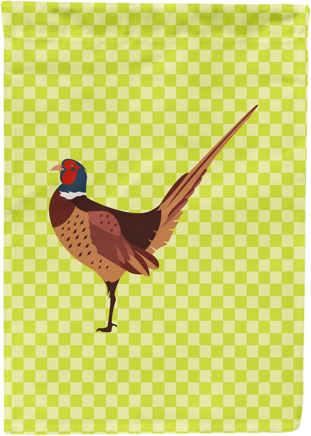 Caroline's Treasures BB7756GF Ring-Necked Common Pheasant Green Garden Flag, Size, Multicolor