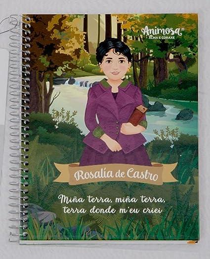 Libreta Galego Rosalía De Castro Amazones Oficina Y Papelería