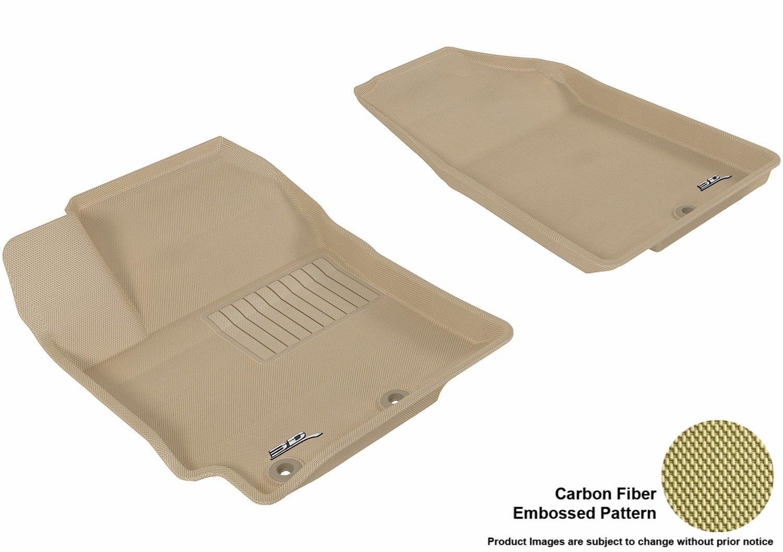 Kagu Rubber 3D MAXpider Second Row Custom Fit All-Weather Floor Mat for Select Kia Rio//Rio5 Models L1KA01421501 Gray