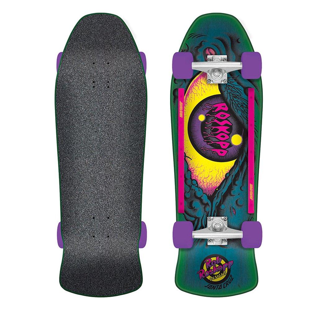 Santa Cruz Skate Roskopp Eye 10in x 31.25in 80s Cruzer Complete
