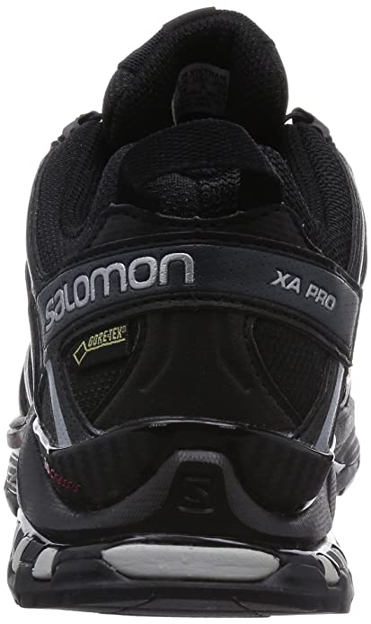 Salomon XA Pro 3D GTX®, Chaussures de Trail Femme - Gris (Grey Denim/Pearl Grey/Mystic Purple), 36 EU