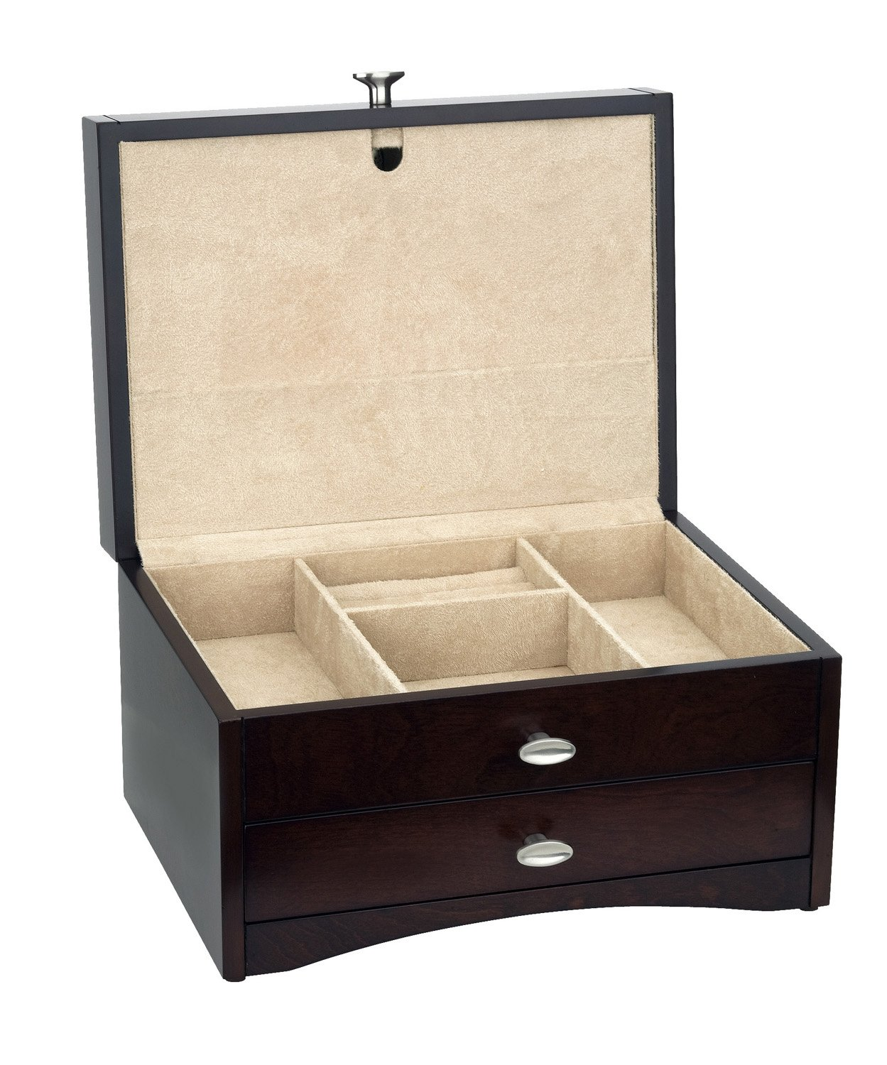 Reed & Barton Avery Jewelry Chest with Draw by Reed & Barton