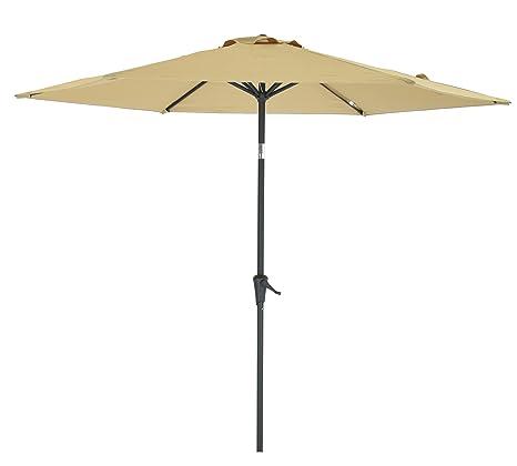 Amazoncom Patio Watcher 9 Ft Patio Umbrella Market Table Umbrella