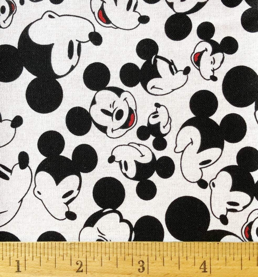 Mickey Mouse Cotton Fabric