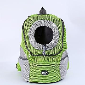 LY-YY Bolsa de transporte para mascotas, transpirable, para el hombro, mascota